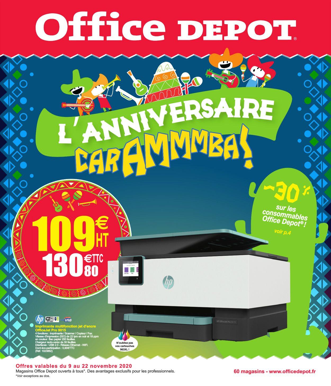 Office Depot Catalogue - 09.11-22.11.2020