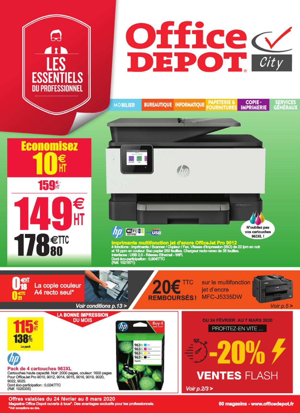 Office Depot Catalogue - 24.02-08.03.2020