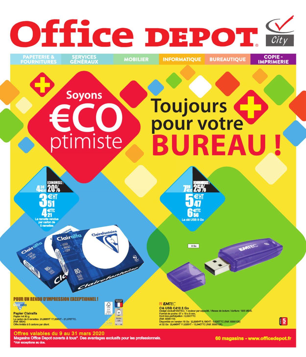 Office Depot Catalogue - 09.03-31.03.2020