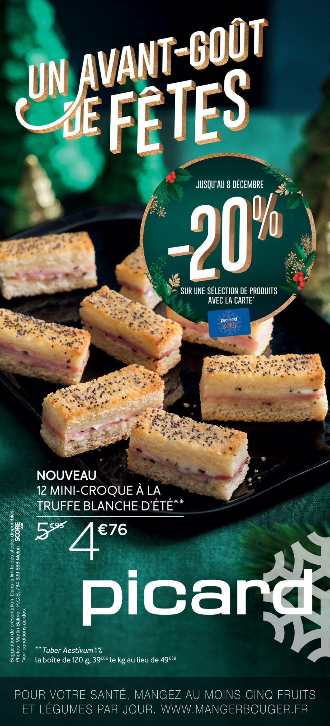 Picard catalogue de Noël 2019 Catalogue - 18.11-08.12.2019