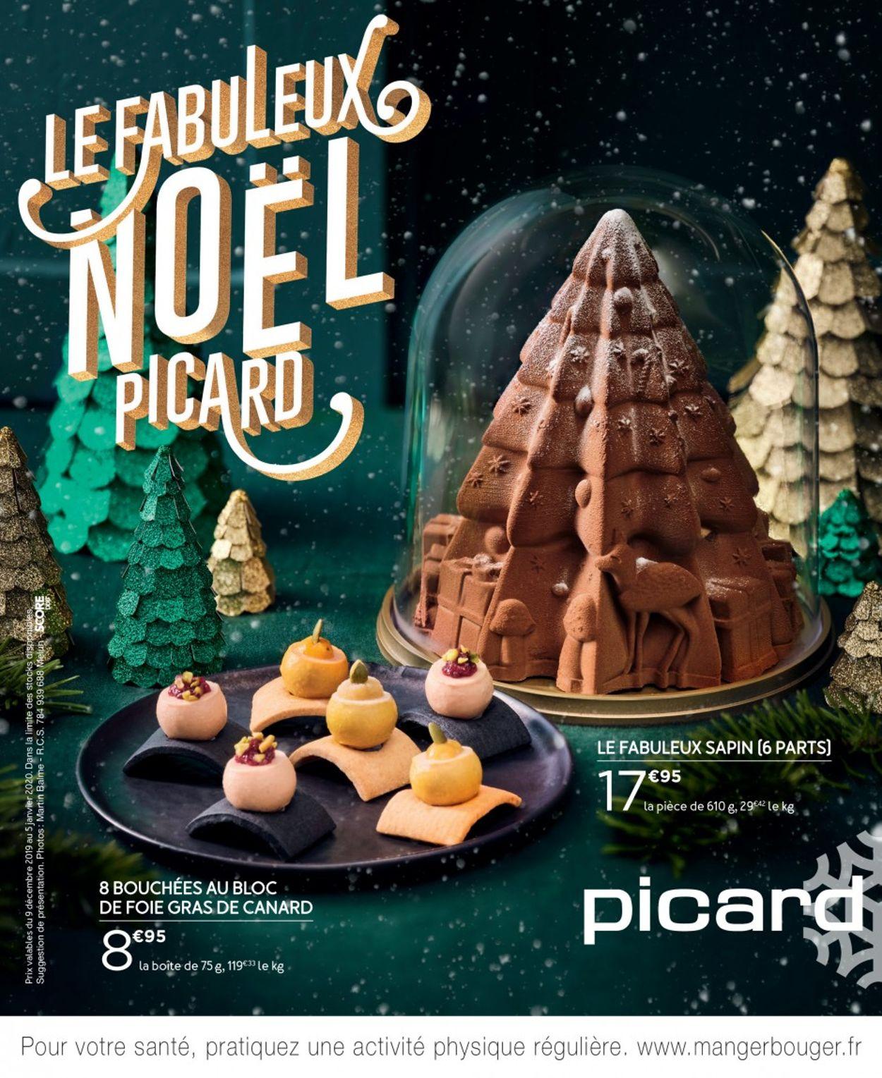 Picard catalogue de Noël 2019 Catalogue - 09.12-05.01.2020