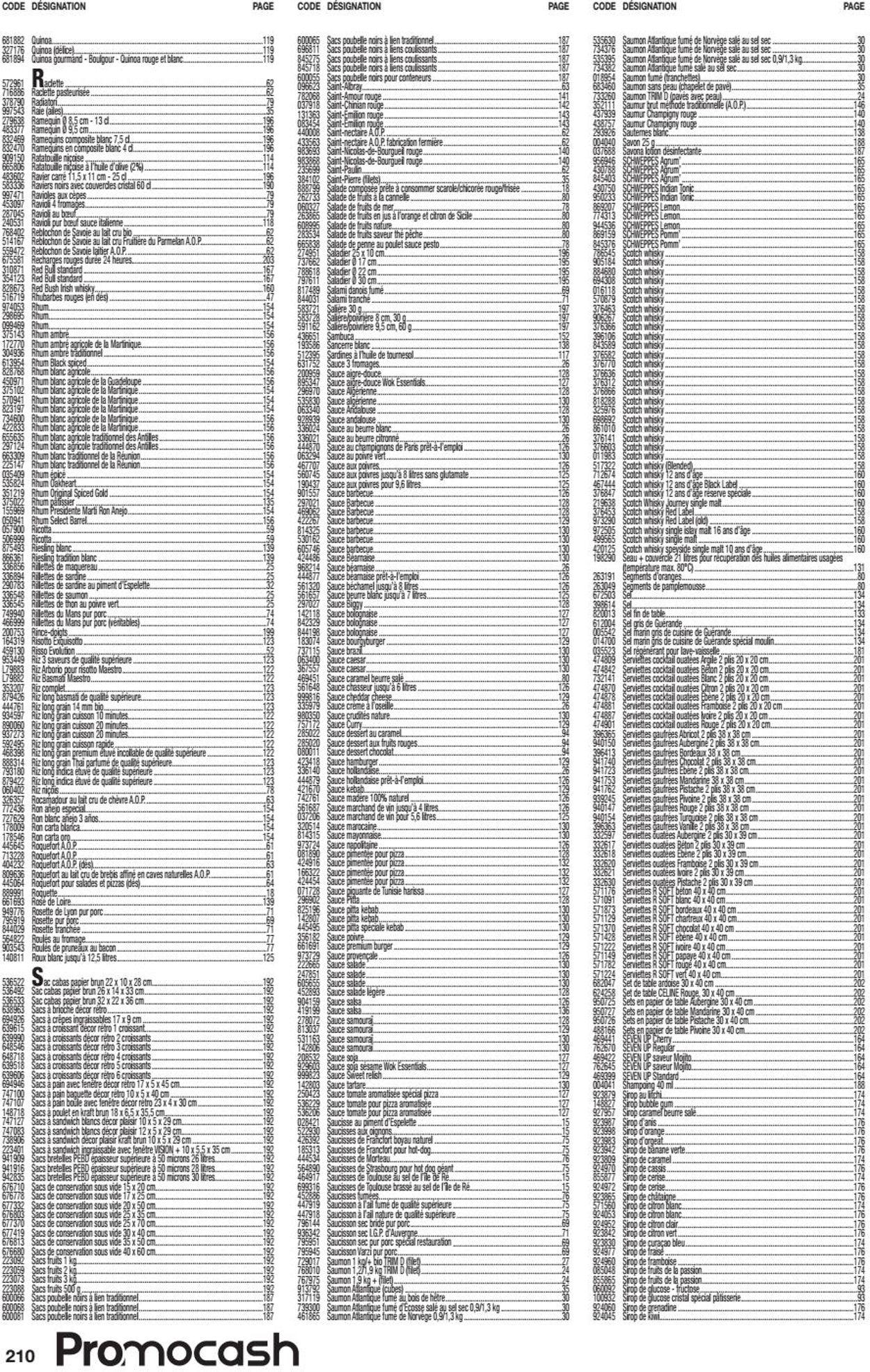 Promocash Catalogue - 18.05-30.10.2020 (Page 210)