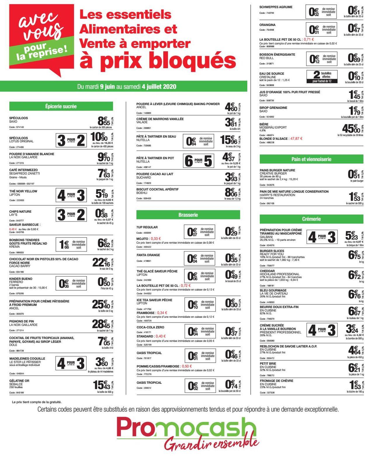 Promocash Catalogue - 09.06-04.07.2020