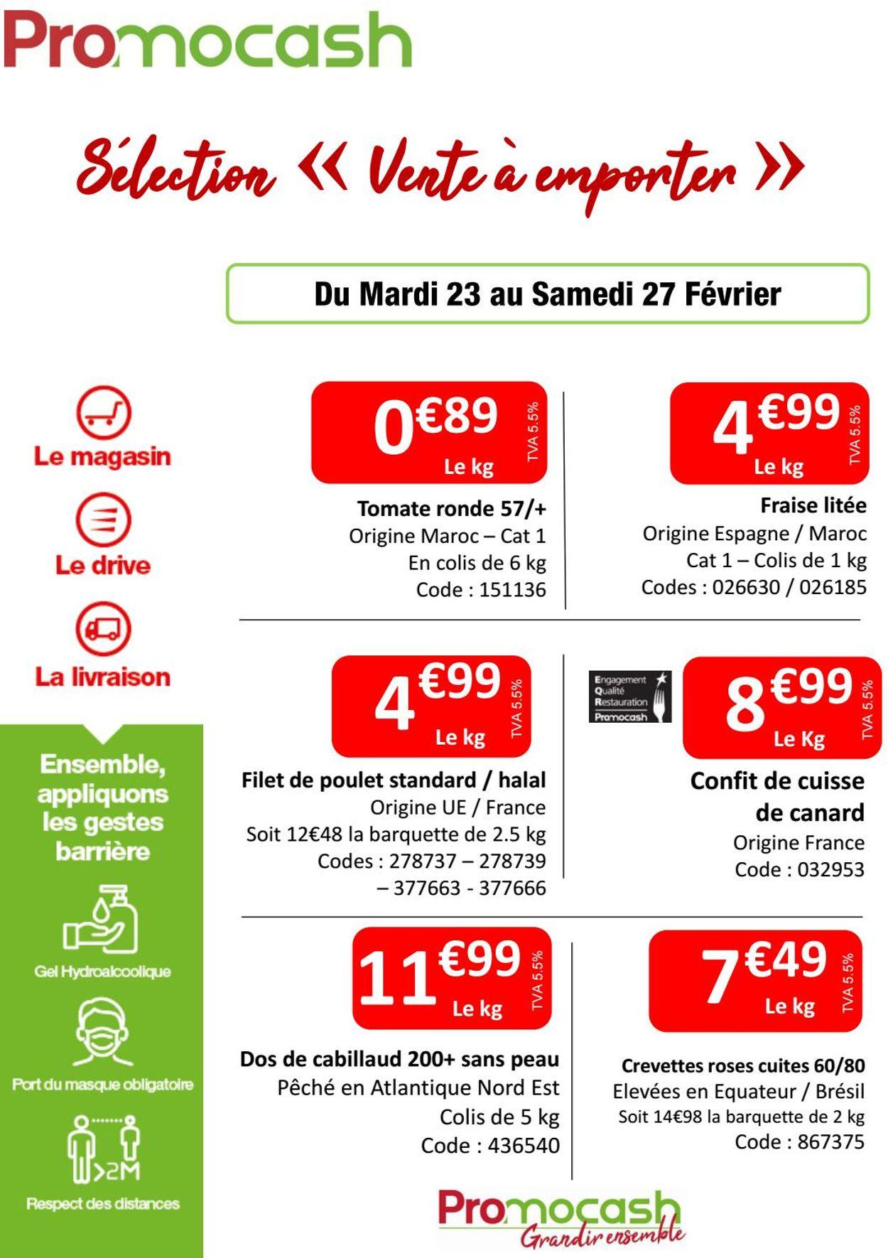 Promocash Catalogue - 23.02-27.02.2021