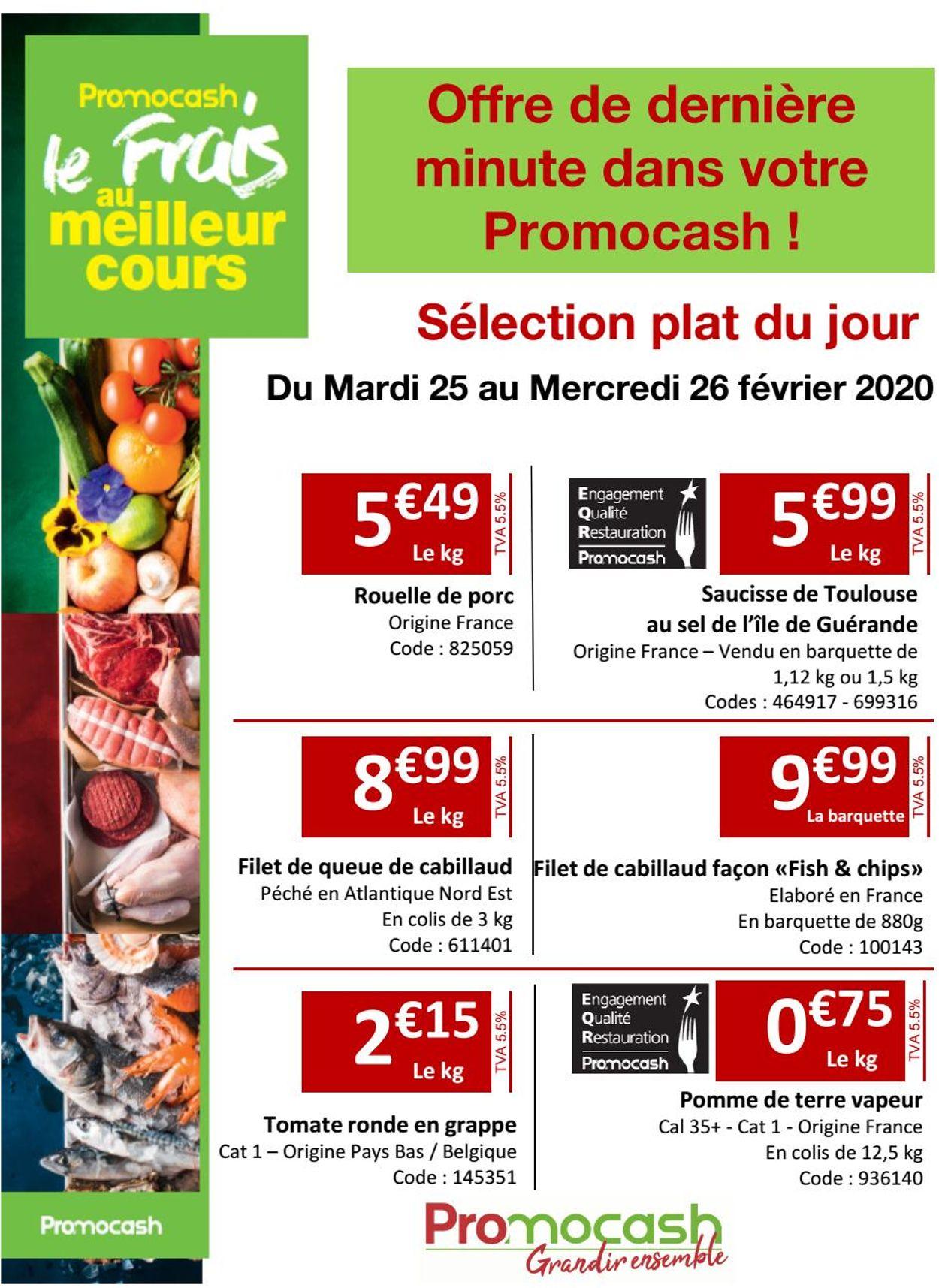Promocash Catalogue - 25.02-26.02.2020