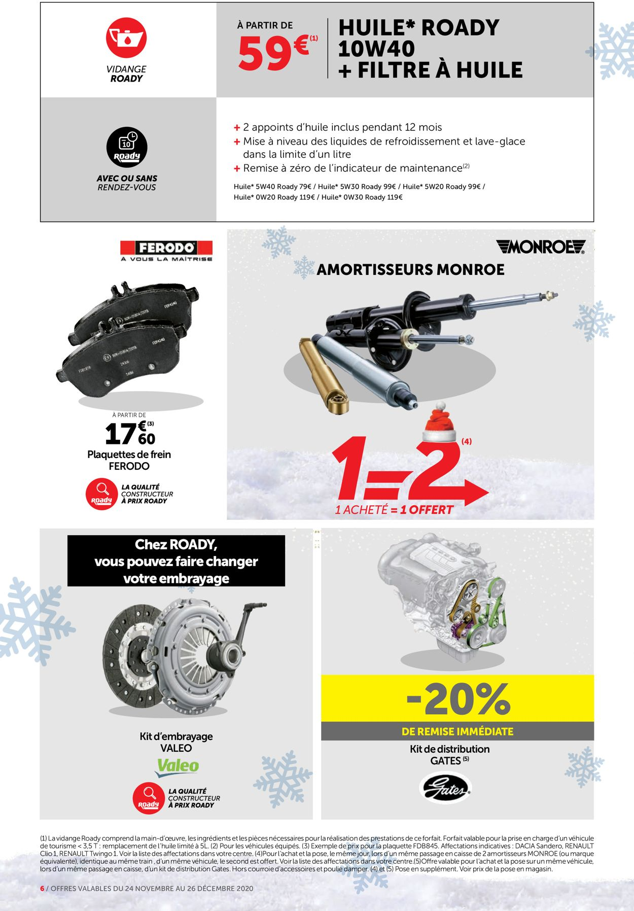 Roady Noel 2020 Catalogue - 24.11-26.12.2020 (Page 6)