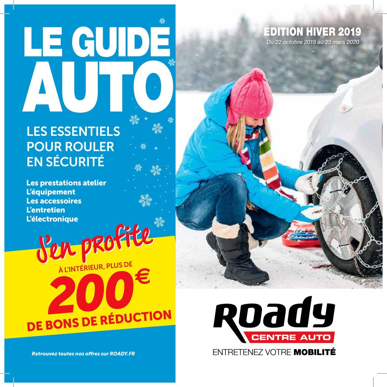 Roady Catalogue - 22.10-23.03.2020