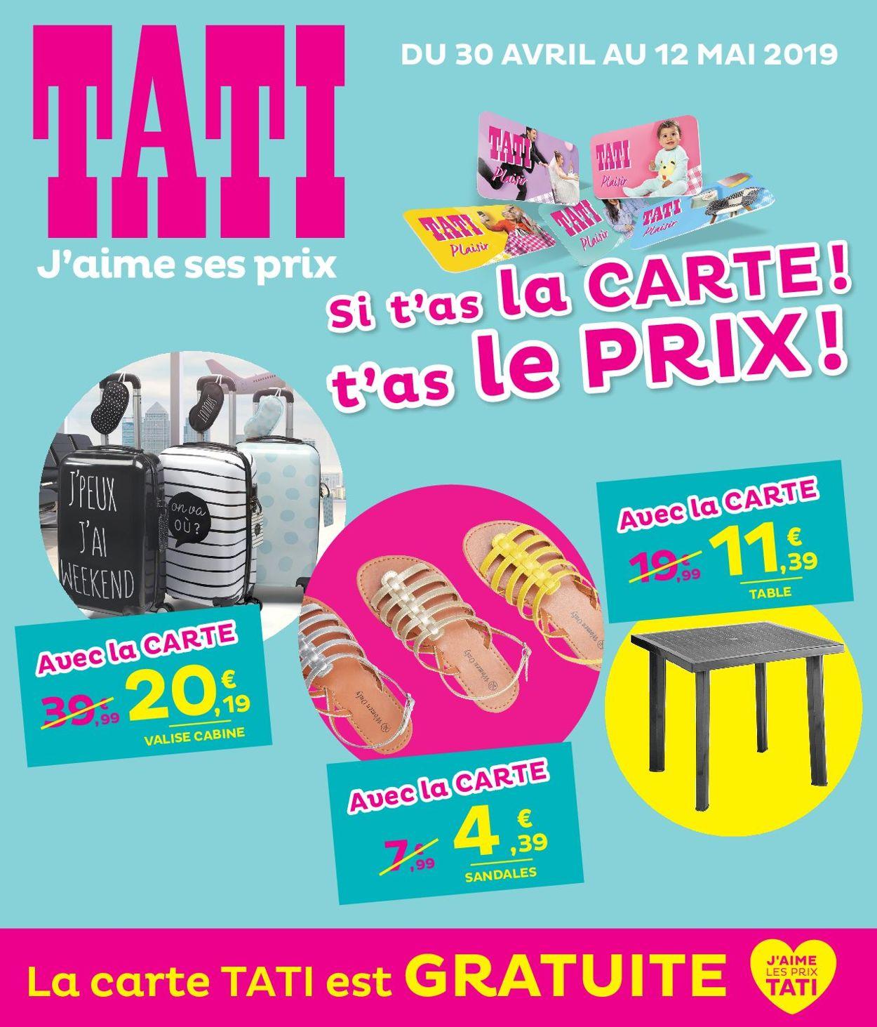 Tati Catalogue - 30.04-12.05.2019