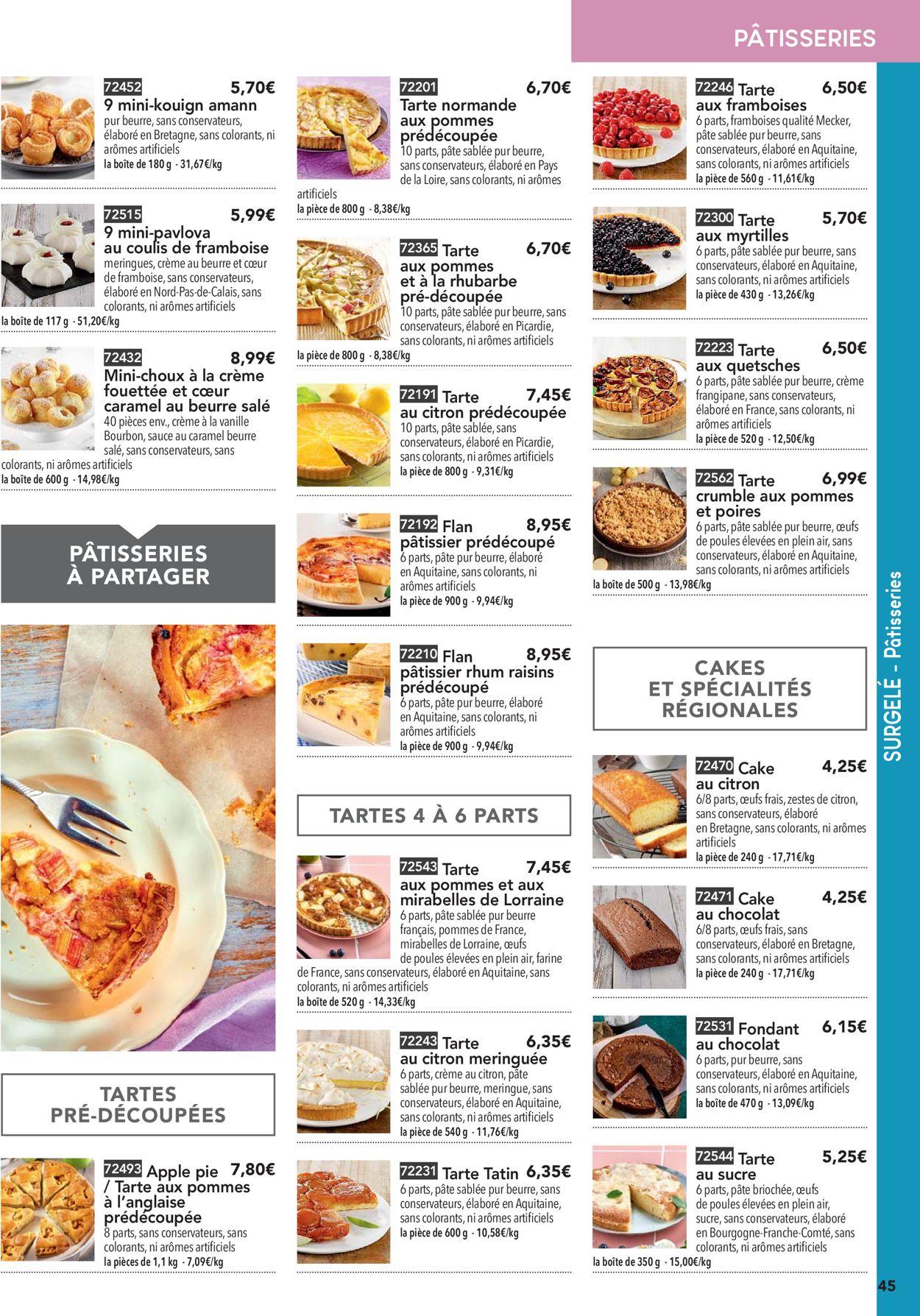 Toupargel Catalogue - 14.05-25.09.2020 (Page 45)