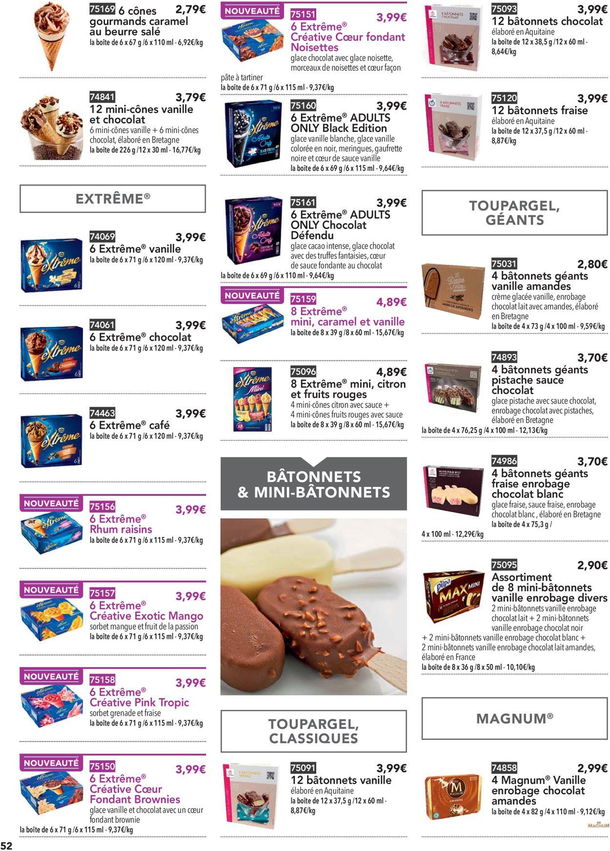 Toupargel Catalogue - 14.05-25.09.2020 (Page 52)