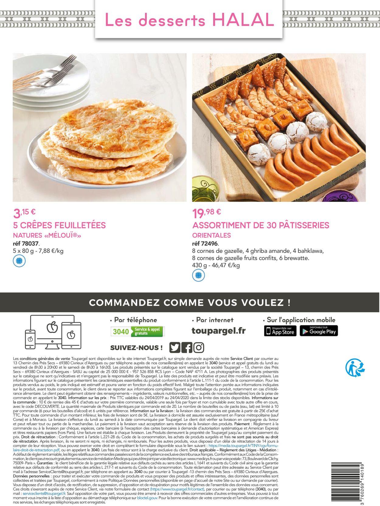 Toupargel Catalogue - 24.04-24.04.2020 (Page 16)