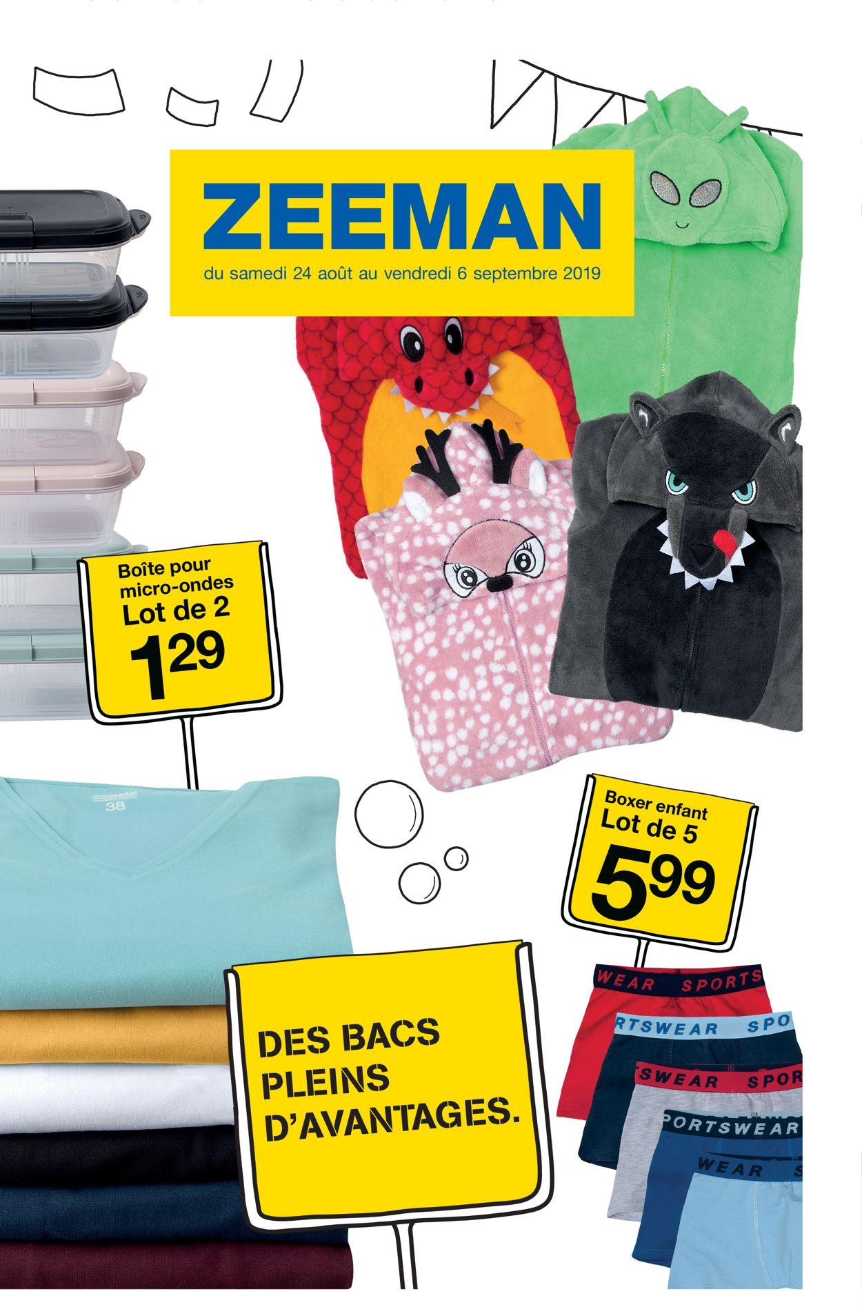 Zeeman Catalogue - 24.08-06.09.2019