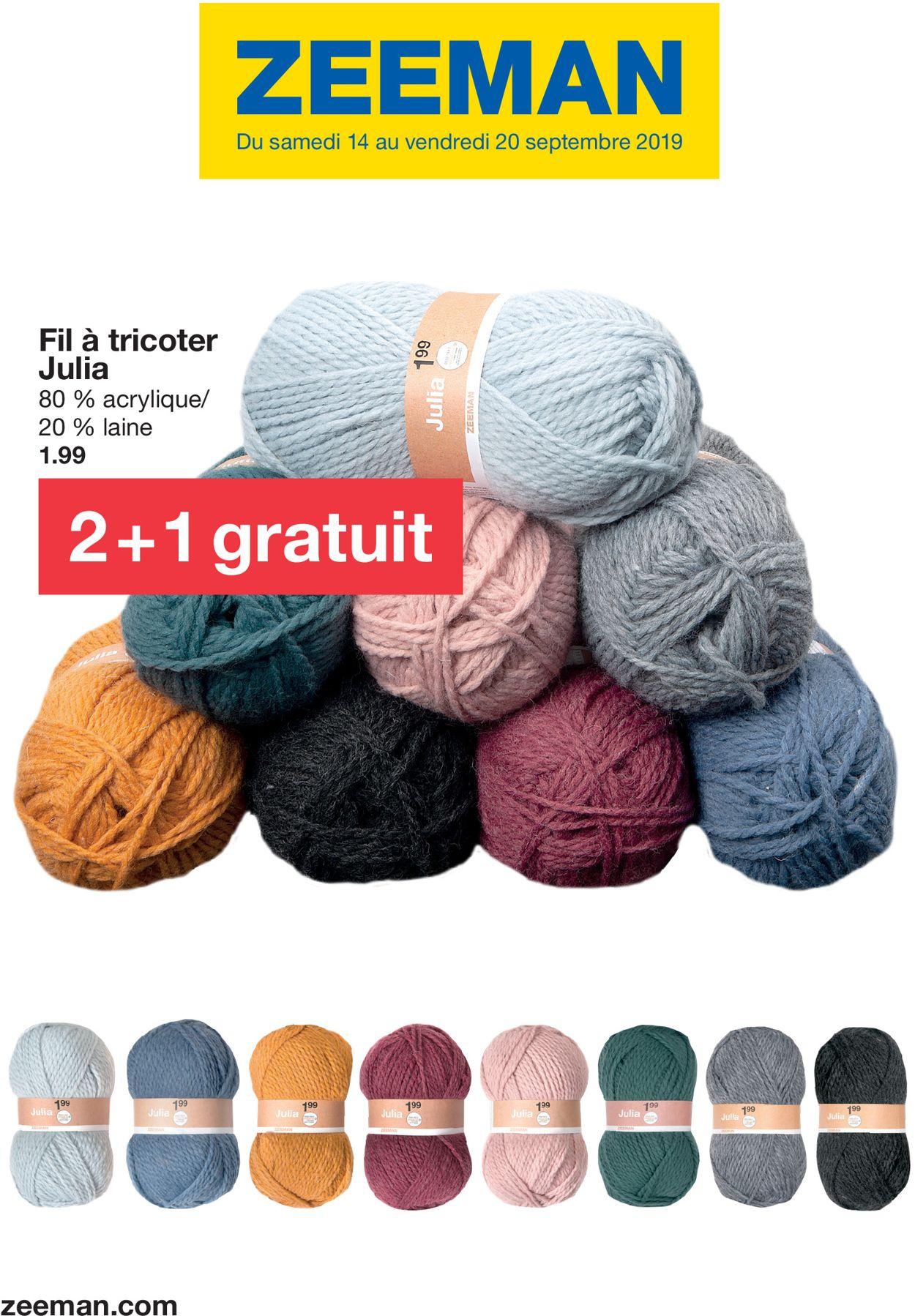 Zeeman Catalogue - 14.09-20.09.2019