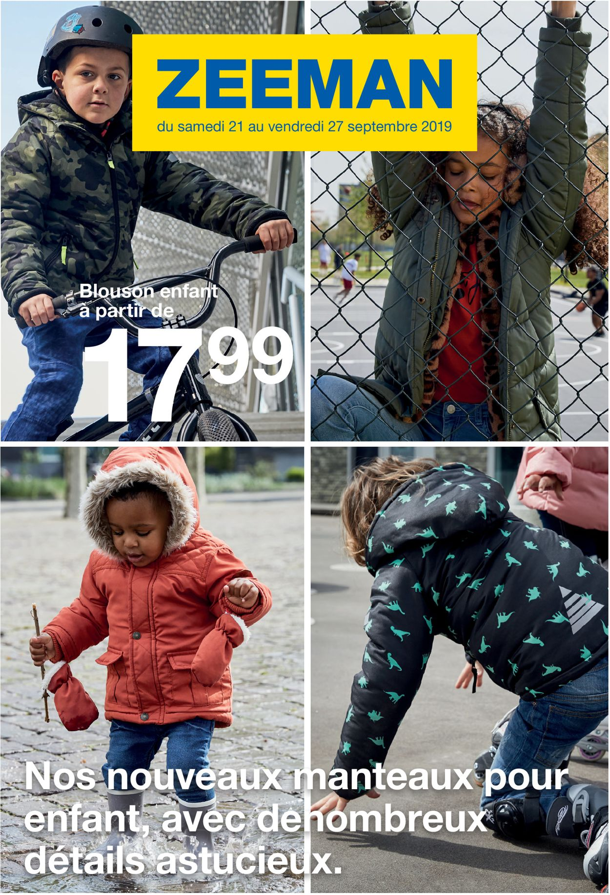 Zeeman Catalogue - 21.09-27.09.2019