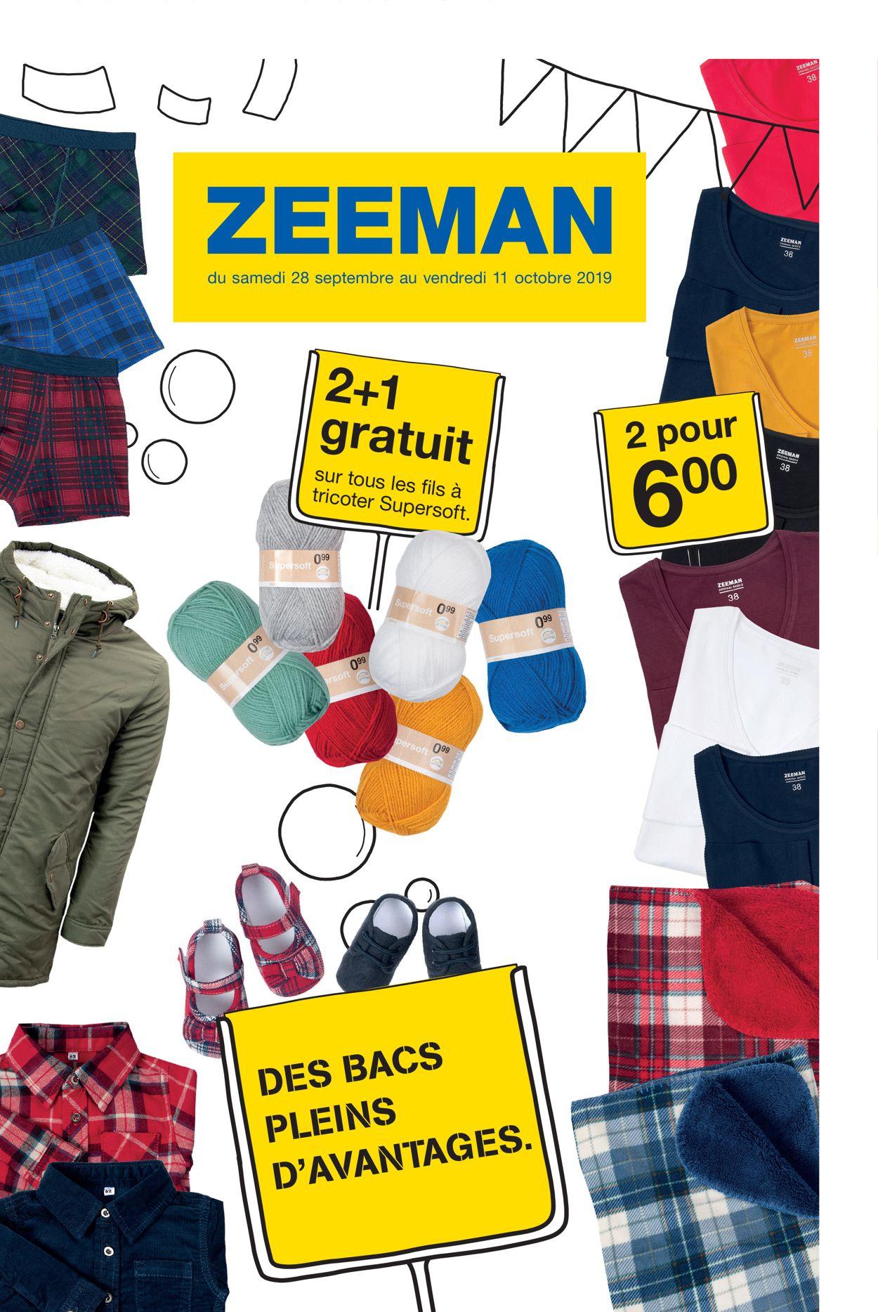 Zeeman Catalogue - 28.09-11.10.2019