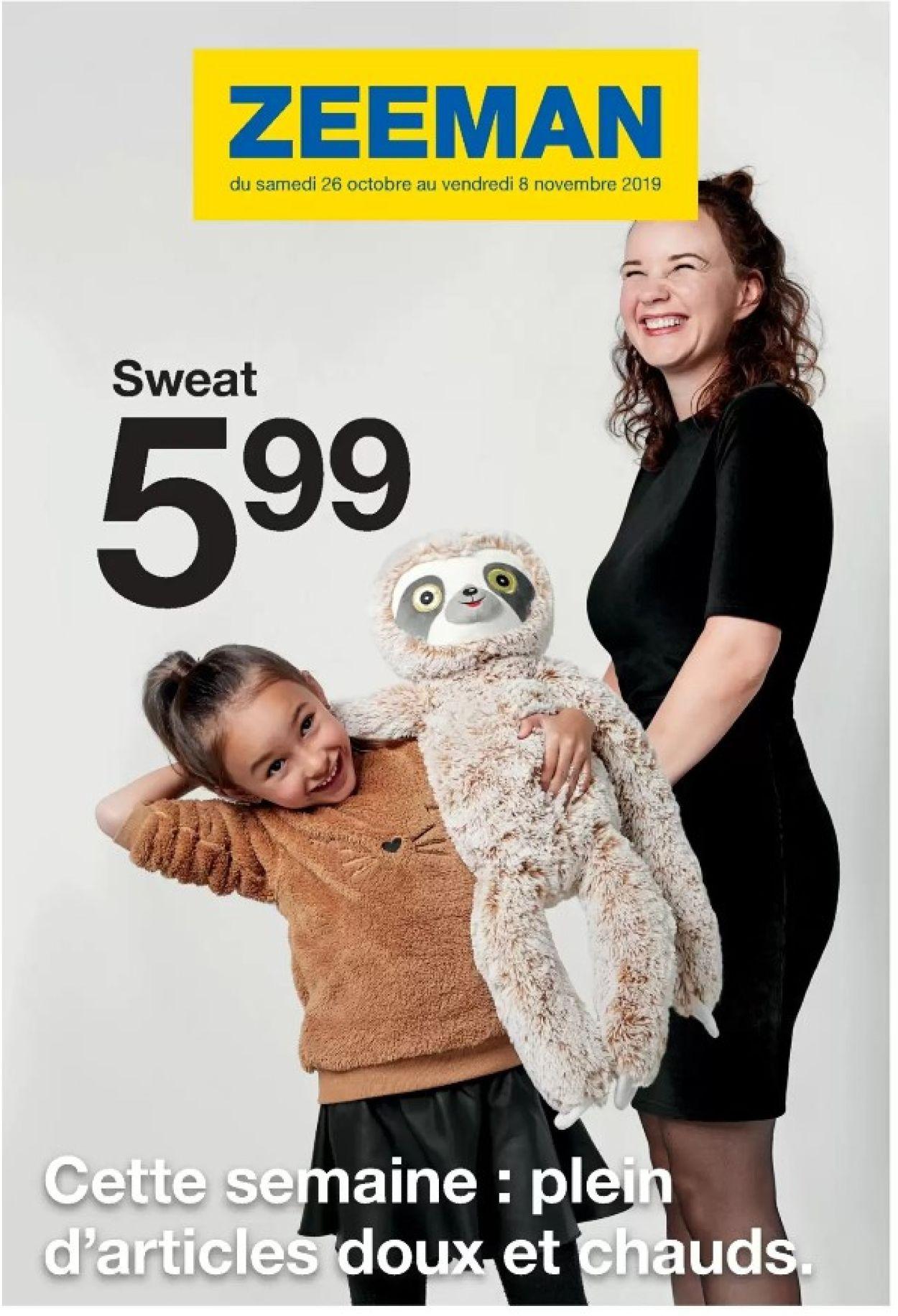 Zeeman Catalogue - 26.10-08.11.2019