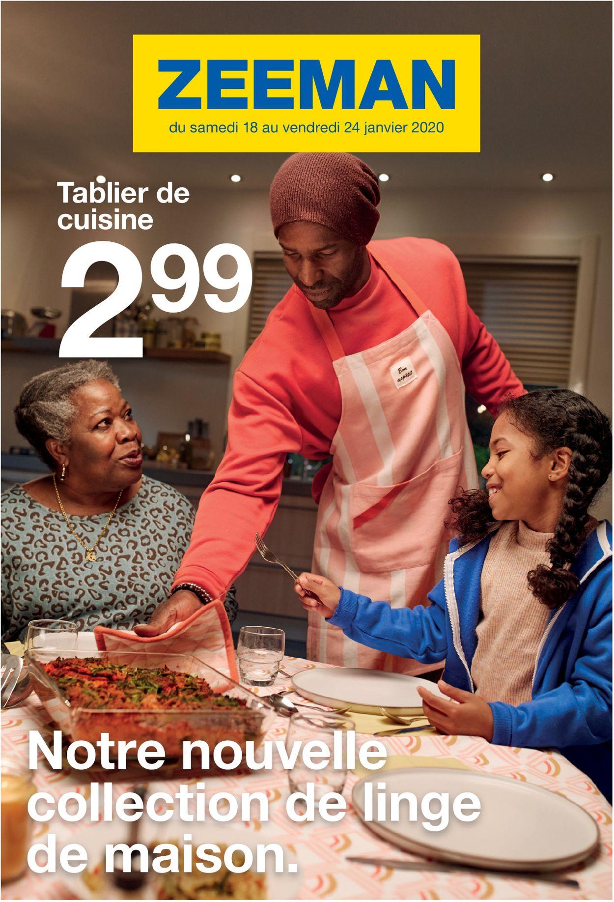 Zeeman Catalogue - 18.01-24.01.2020