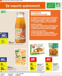 Carrefour Manger Sain 2021