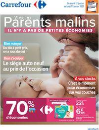 Carrefour Vive les parents malins 2021