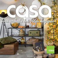 Casa catalogue de Noël 2019