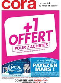 Cora +1 Offert Pour 2 Achetés 2021