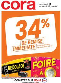 Cora 34% De Remise Immédiate 2021