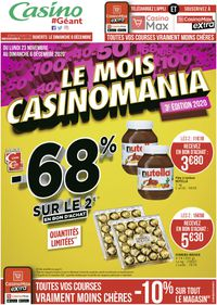 Géant Casino Black Friday Catalogue 2020