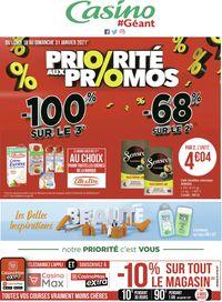 Géant Casino Priorité aux Promos 2021