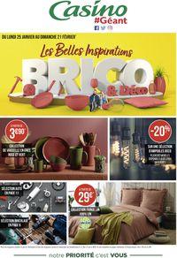 Géant Casino Inspirations Brico & Déco 2021