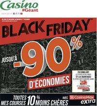 Géant Casino BLACK FRIDAY 2019