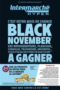 Intermarché Black Friday 2020