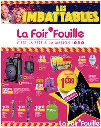 La Foir'Fouille catalogue de Noël 2019