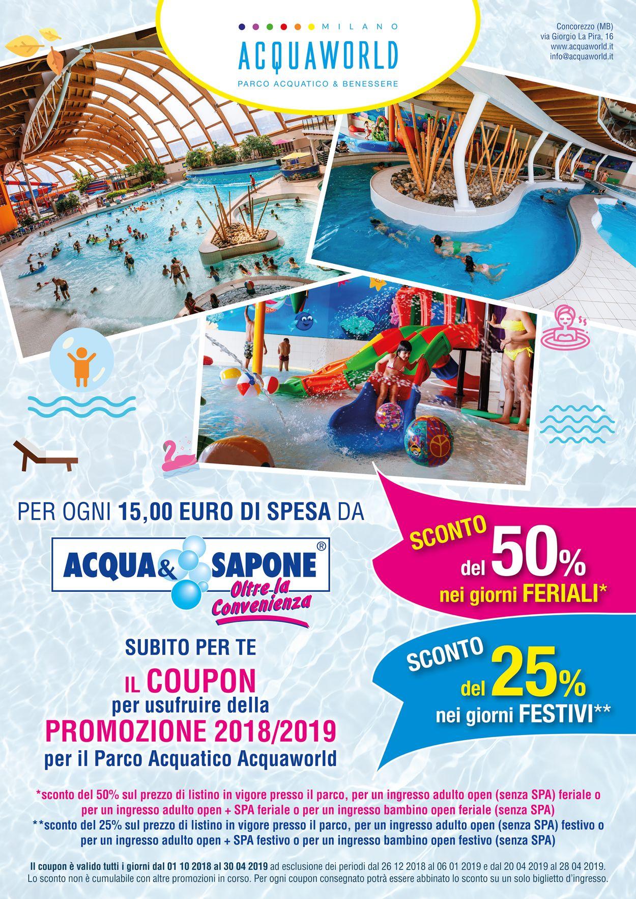 Volantino Acqua & Sapone - Offerte 01/10-30/04/2019