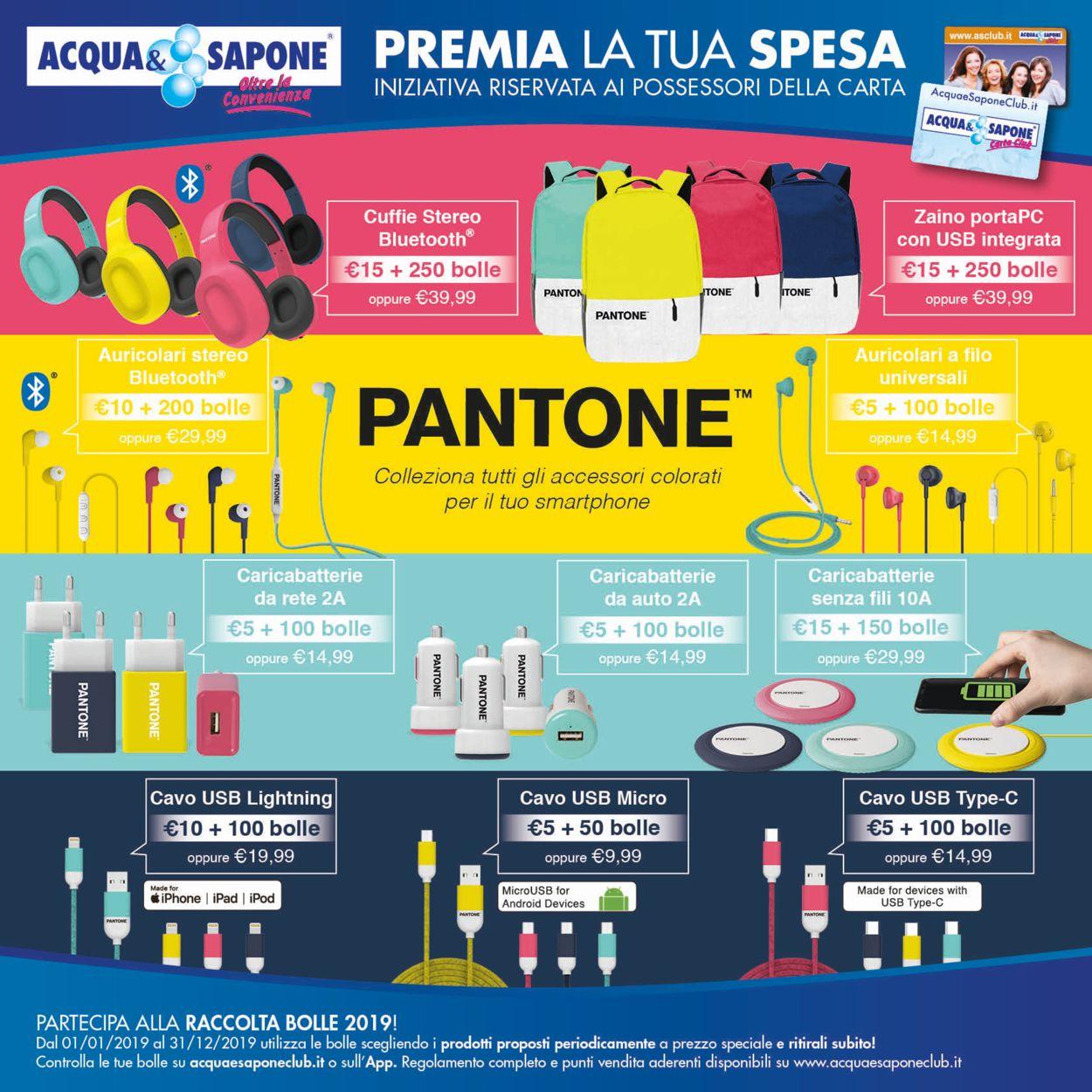 Volantino Acqua & Sapone - Offerte 28/05-09/06/2019