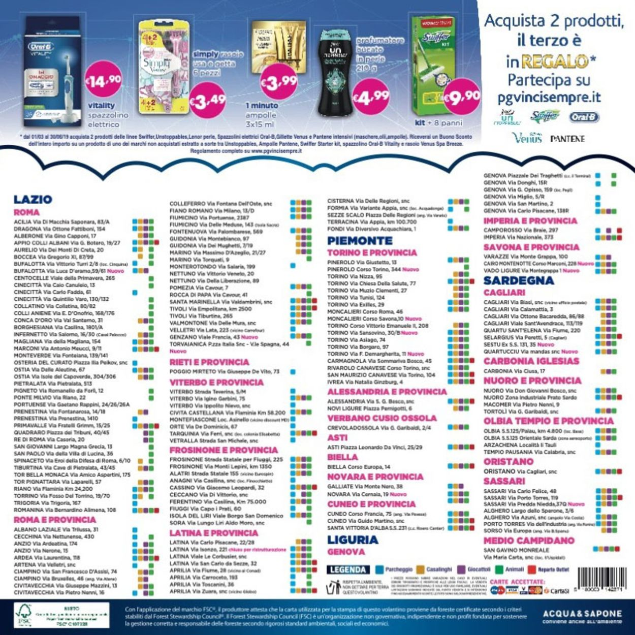 Volantino Acqua & Sapone - Offerte 11/06-23/06/2019 (Pagina 16)