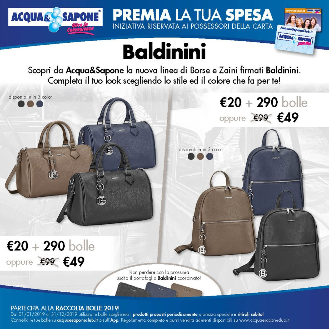 Volantino Acqua & Sapone - Offerte 24/09-31/12/2019