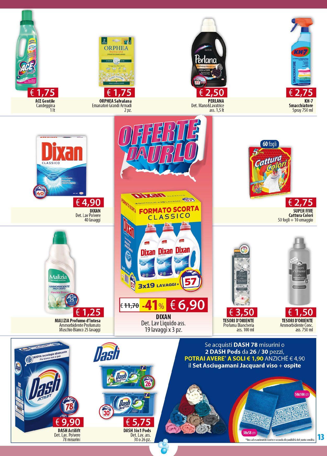 Volantino Acqua & Sapone - Offerte 12/11-24/11/2019 (Pagina 13)