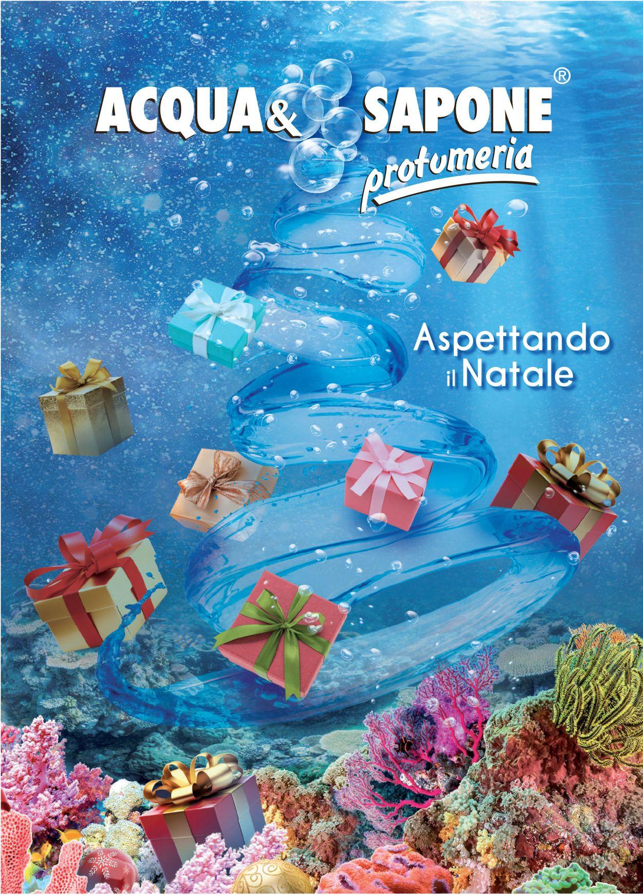 Volantino Il volantino natalizio di Acqua & Sapone - Offerte 26/11-06/01/2020