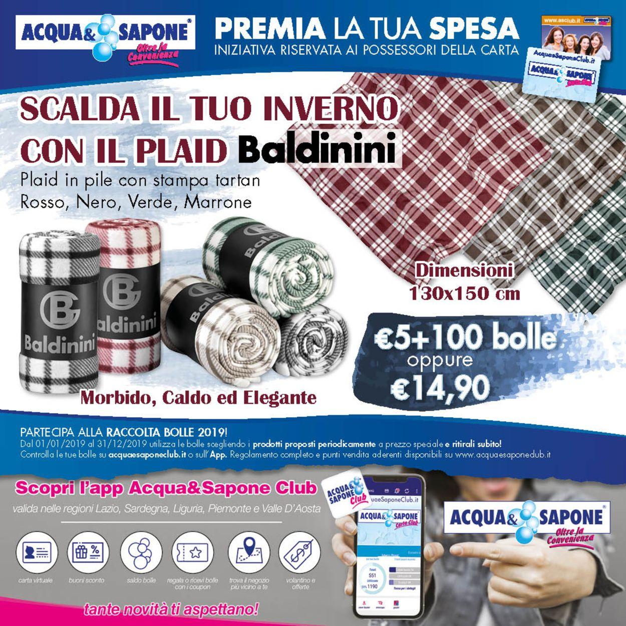 Volantino Acqua & Sapone - Offerte 26/11-08/12/2019
