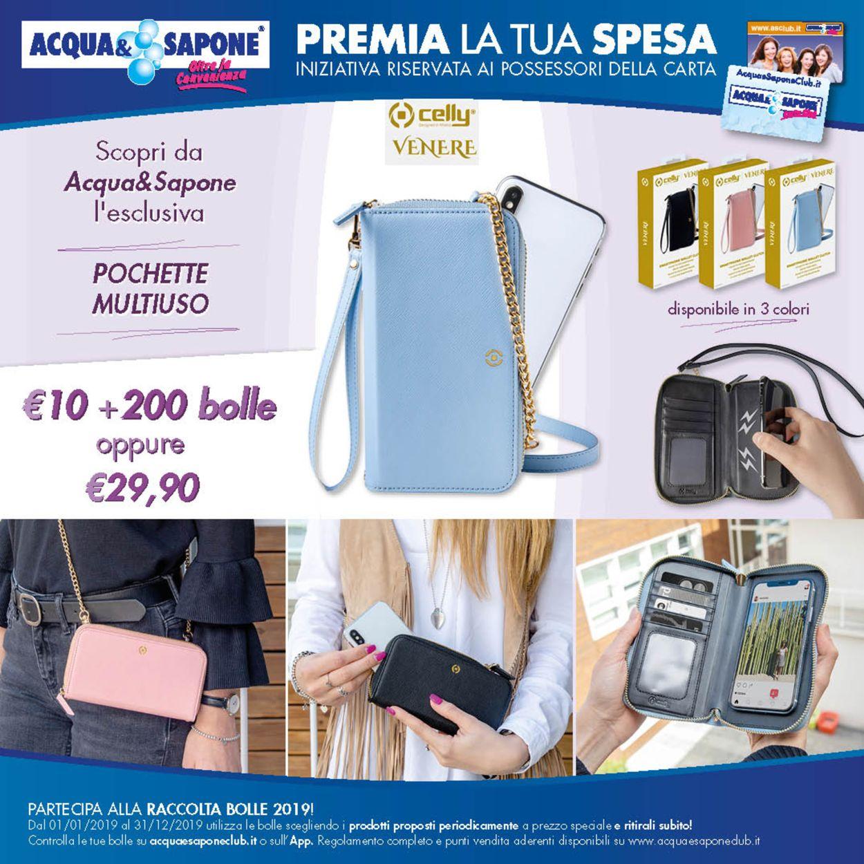 Volantino Acqua & Sapone - Offerte 10/12-31/12/2019