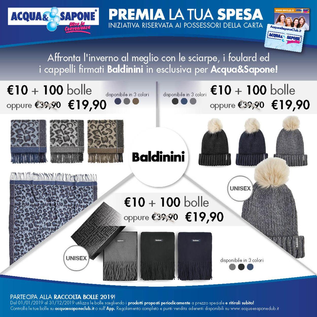 Volantino Acqua & Sapone - Offerte 10/12-31/12/2019 (Pagina 3)