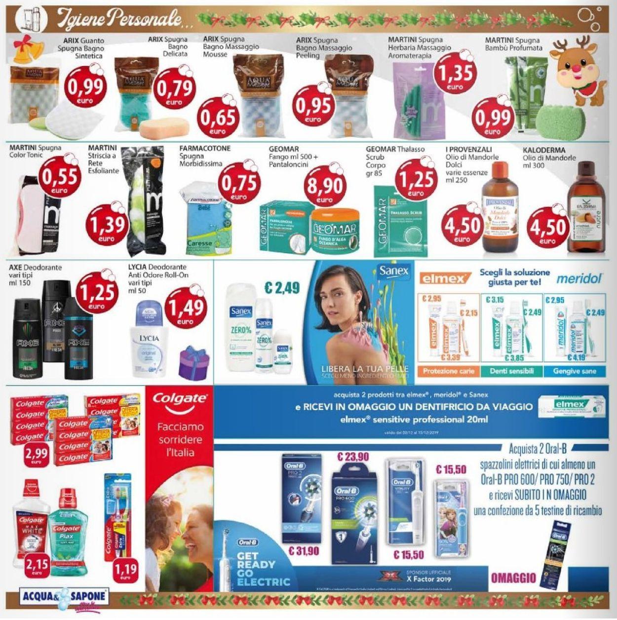 Volantino Acqua & Sapone - Offerte 18/12-05/01/2020 (Pagina 4)
