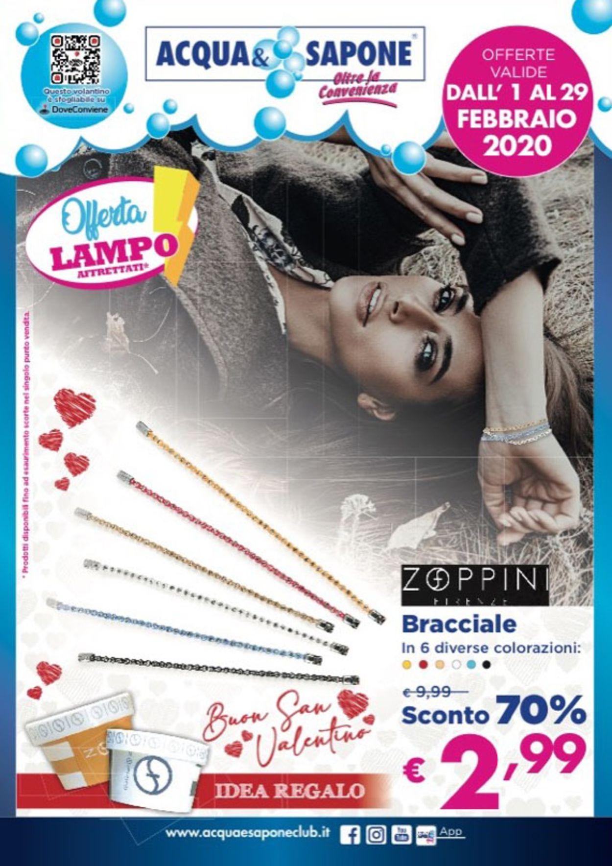 Volantino Acqua & Sapone - Offerte 01/02-29/02/2020