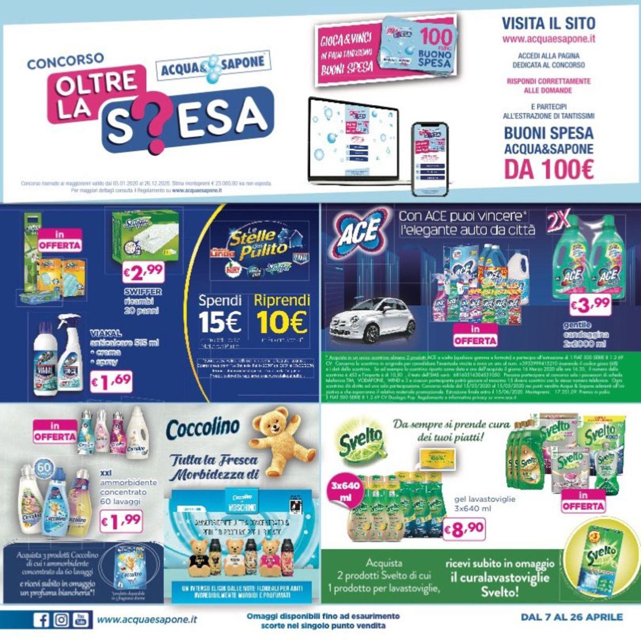 Volantino Acqua & Sapone - Offerte 07/04-26/04/2020 (Pagina 4)