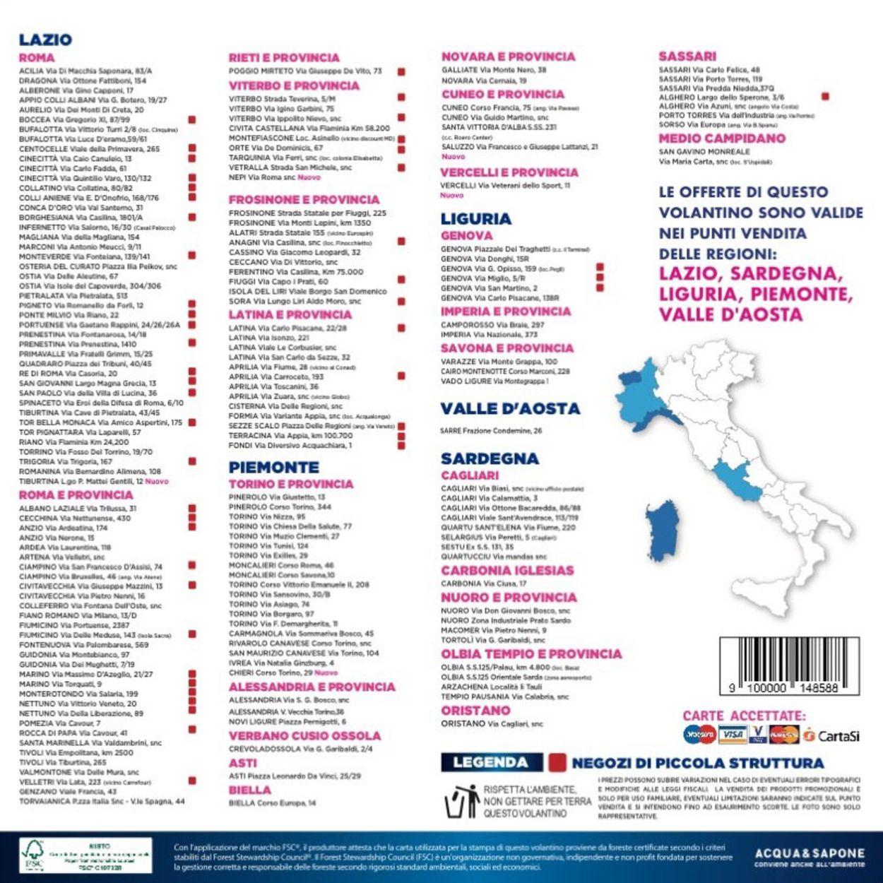 Volantino Acqua & Sapone - Offerte 07/04-26/04/2020 (Pagina 16)