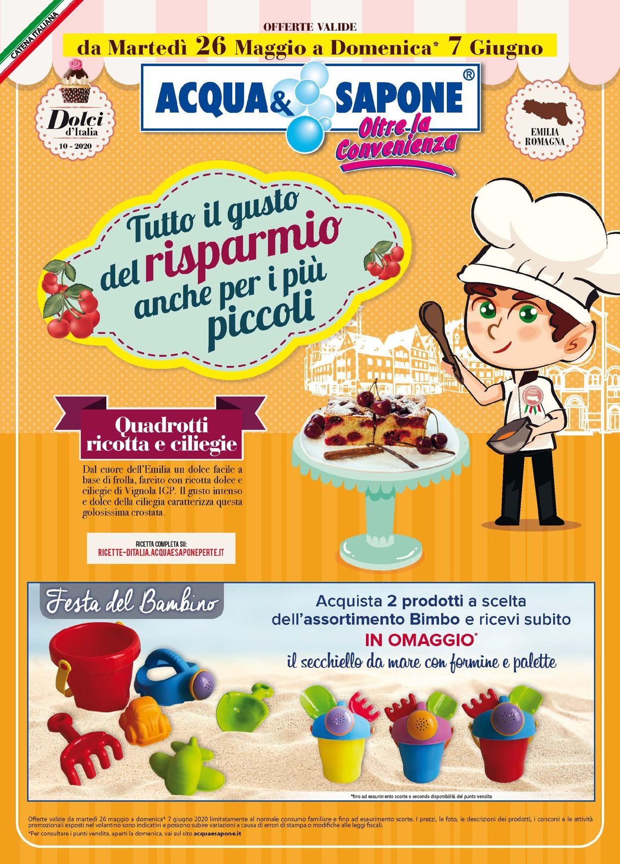 Volantino Acqua & Sapone - Offerte 26/05-07/06/2020