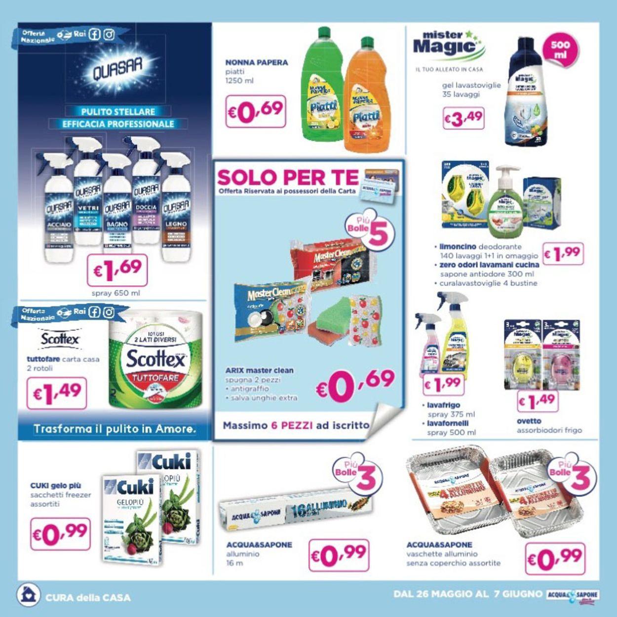 Volantino Acqua & Sapone - Offerte 26/05-07/06/2020 (Pagina 3)