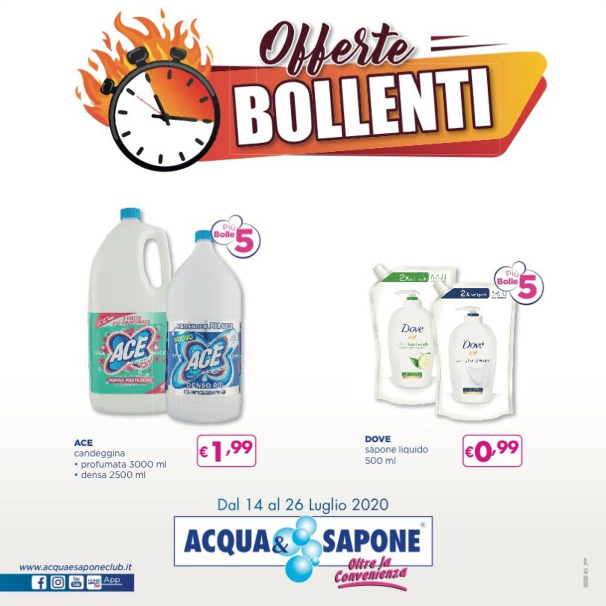 Volantino Acqua & Sapone - Offerte 14/07-26/07/2020