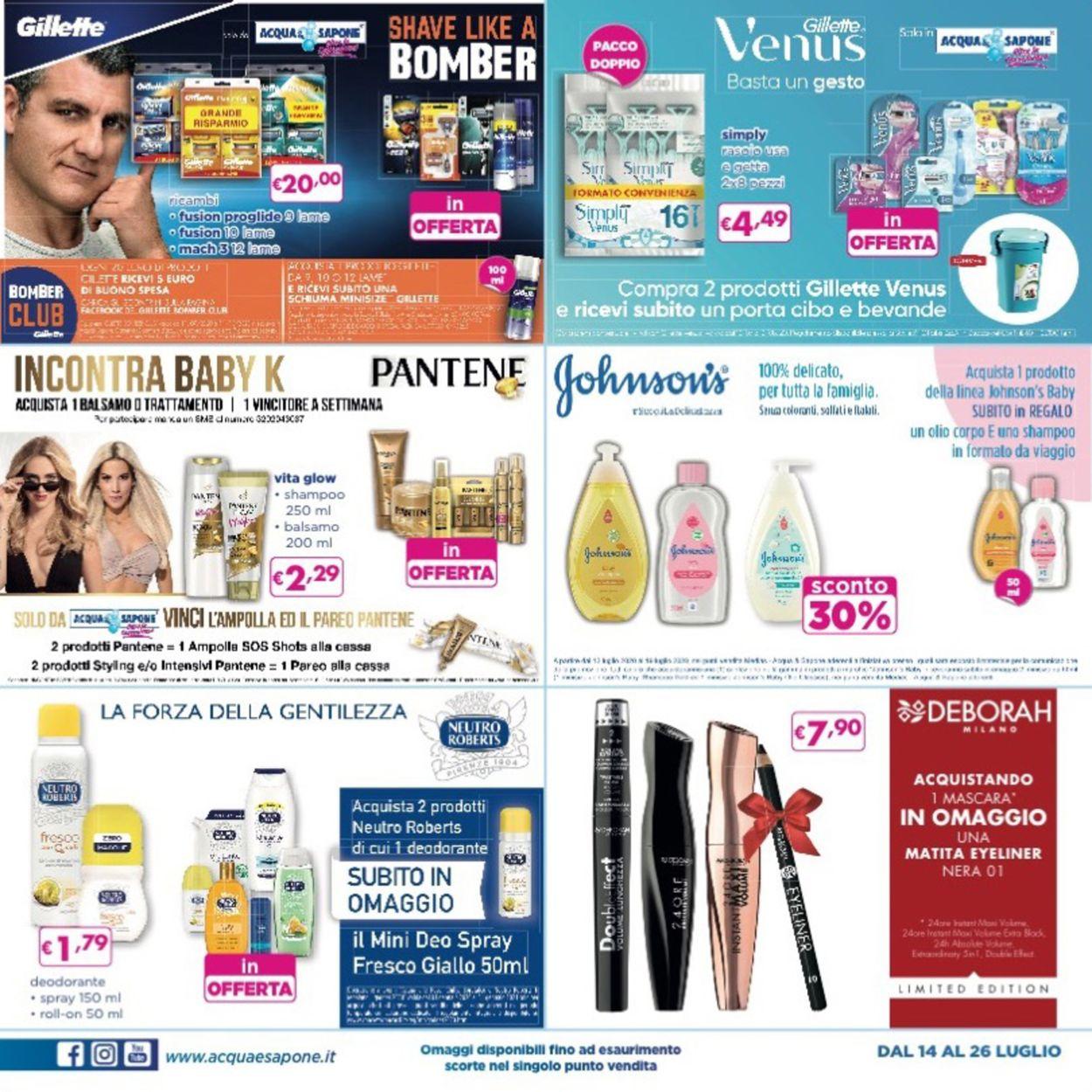 Volantino Acqua & Sapone - Offerte 14/07-26/07/2020 (Pagina 3)