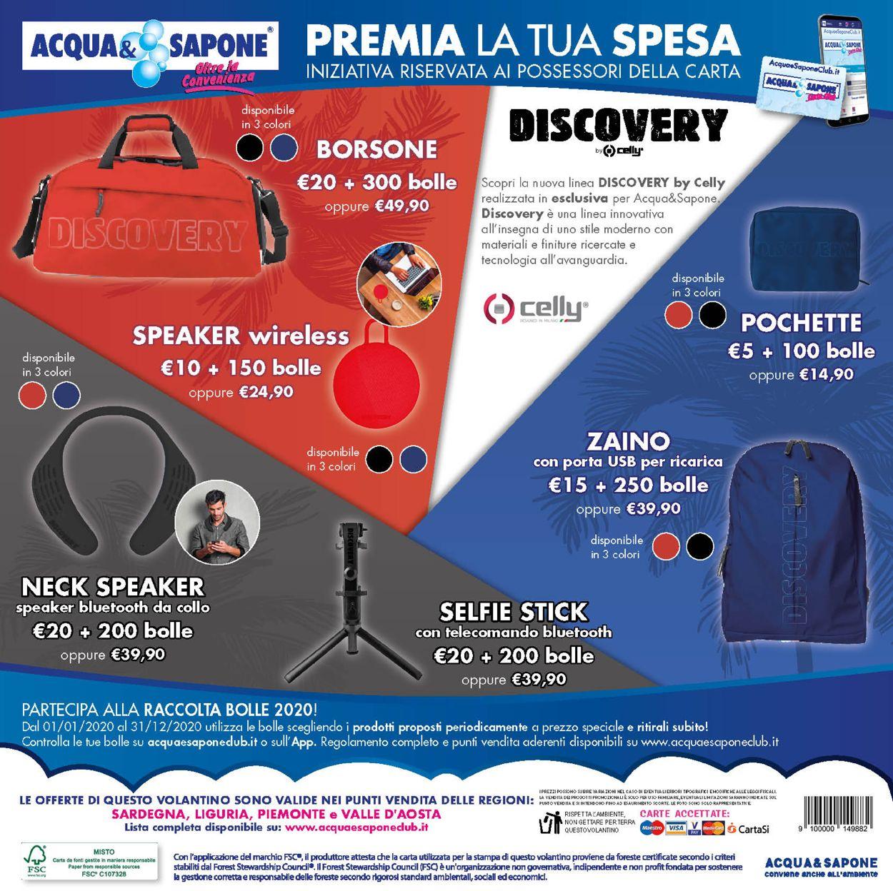 Volantino Acqua & Sapone - Offerte 14/07-02/08/2020